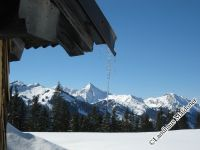 Winterliche Bergwelt -